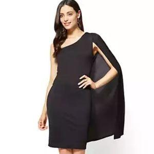 New York & Company Cape dress